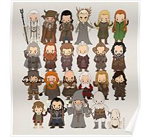 Tiny Hobbit Poster