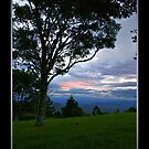 Sunset from Lamington National Park by Jennifer Ellison