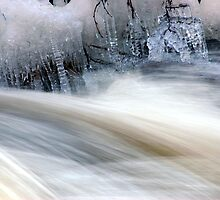 Ice and Moving Water  by Helena Haidner