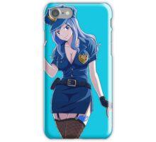 Juvia Police iPhone Case/Skin