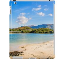 Silver Sands of Morar 6 iPad Case/Skin