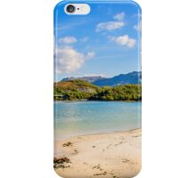Silver Sands of Morar 6 iPhone Case/Skin
