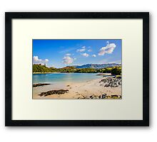 Silver Sands of Morar 6 Framed Print