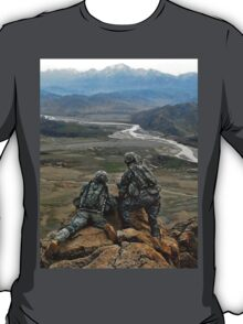 Afghanistan.valley.view. T-Shirt