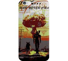 Vault dweller & Dogmeat iPhone Case/Skin