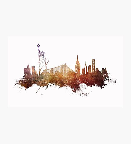 New York City - skyline Photographic Print
