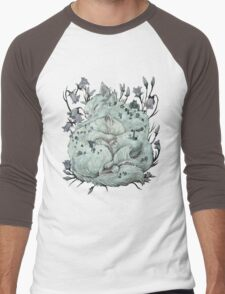The Sleepers in that Quiet Earth Men's Baseball ¾ T-Shirt