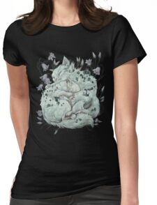 The Sleepers in that Quiet Earth Womens Fitted T-Shirt