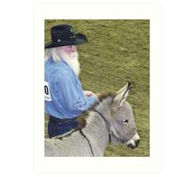 You Choose-Man or Mule Art Print
