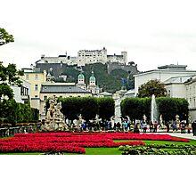 Salzburg Gardens  Photographic Print