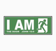 JOHN 10:9 - I AM THE DOOR  Kids Clothes