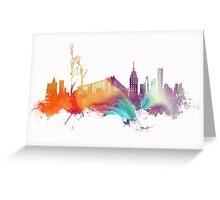 NYC New York City skyline Greeting Card
