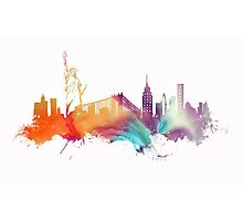 NYC New York City skyline Photographic Print