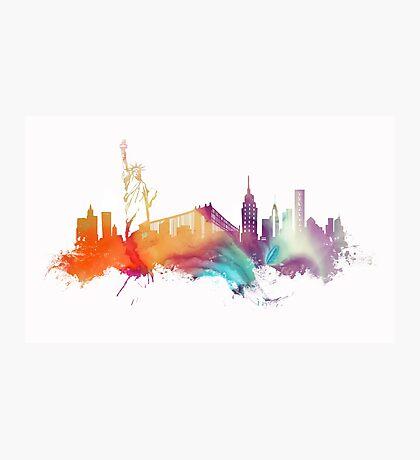 NYC New York City skyline Photographic Print