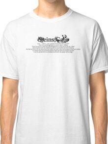 Steins;Gate Classic T-Shirt