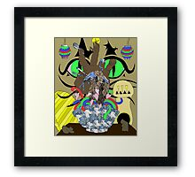 At Service of Luck Framed Print