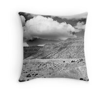 """...in my dreams I am dying all the time..."" Throw Pillow"