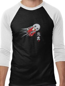 Oni and the octopus Men's Baseball ¾ T-Shirt
