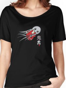 Oni and the octopus Women's Relaxed Fit T-Shirt