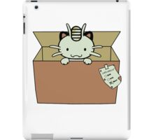 meowth iPad Case/Skin