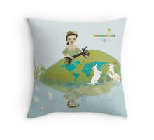 lady regina series   those at play    01. Throw Pillow