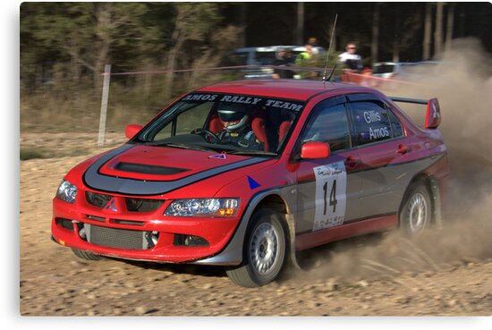 Rally of Lithgow (Car 14) by Mark  Hodges