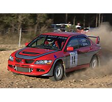 Rally of Lithgow (Car 14) Photographic Print