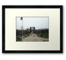 Lyndon Bridge Framed Print