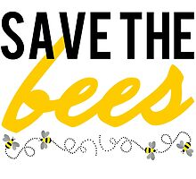 Save The Bees by Wear2Protest