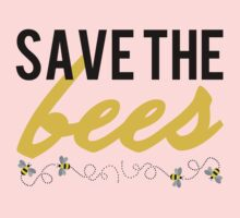 Save The Bees Kids Tee