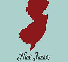 New Jersey - States of the Union by Michael Bowman