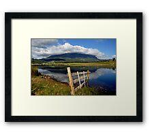 photoj Tas, Mt Roland Lakes Framed Print