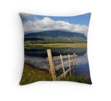 photoj Tas, Mt Roland Lakes Throw Pillow