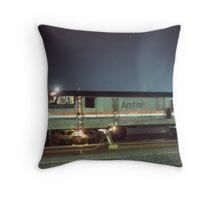 Auto Train 1 Throw Pillow