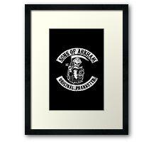 Sons Of Arkham Framed Print