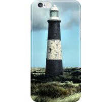 Spurn Point Lighthouse iPhone Case/Skin