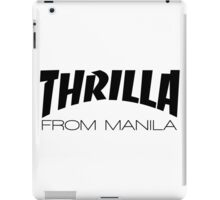 Pacquiao THRILLA FROM MANILA by AiReal Apparel iPad Case/Skin
