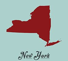 New York - States of the Union by Michael Bowman