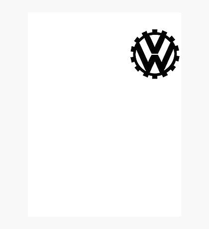 `VW logo Photographic Print