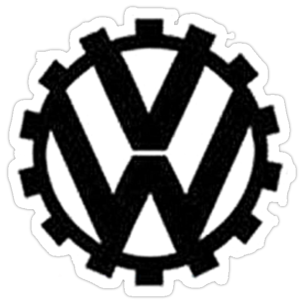 `VW logo by blanchy