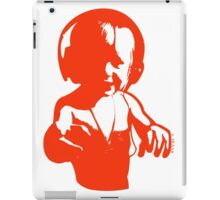Headphones - Orange iPad Case/Skin