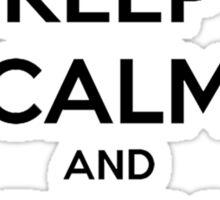 Keep calm and play CS:GO shirt Sticker