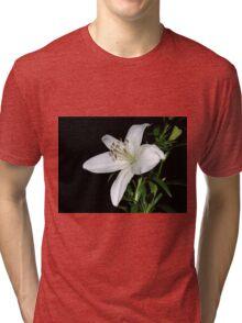 White Lily Tri-blend T-Shirt