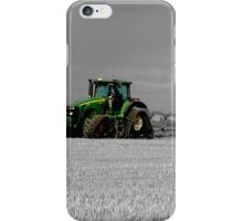 Working the Fields iPhone Case/Skin