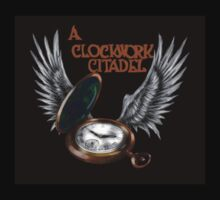A Clockwork Citadel - LOGO (black) T-Shirt