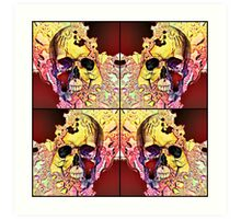 The four corners of my conscience mind Art Print