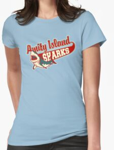 Sharks and Recreation Womens Fitted T-Shirt