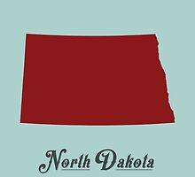 North Dakota - States of the Union by Michael Bowman