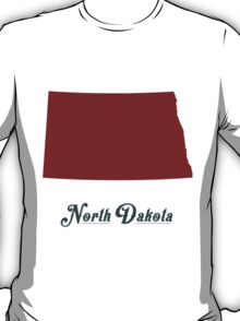 North Dakota - States of the Union T-Shirt