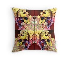 The four corners of my conscience mind Throw Pillow